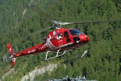 Rettungs-Hubschrauber Stockfotos
