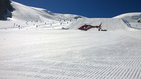 Rettungs-Hubschrauber Lizenzfreie Stockfotos