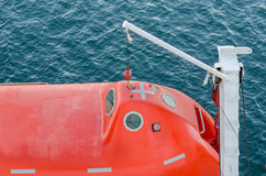 Rettungsboot Lizenzfreies Stockbild