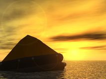 Rettungsboot Stockfoto