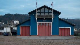 Rettungsboot-Station, Hastings lizenzfreie stockfotografie