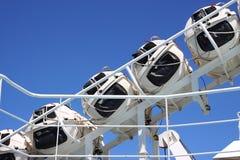 Rettungsboote Lizenzfreies Stockfoto