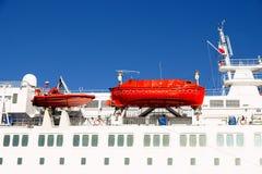 Rettungsboote Stockfoto