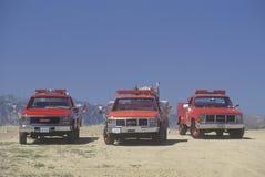 Rettungsfahrzeuge, Los Angeles County, Kalifornien Lizenzfreie Stockbilder