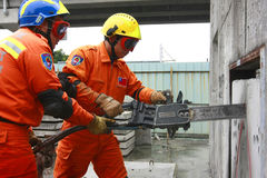 Rettungsmannschaft Lizenzfreies Stockfoto