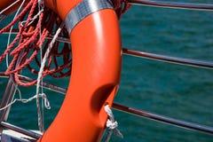 Rettungsmannschaft und Seil Stockbild