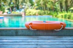 RettungsringSwimmingpool lizenzfreies stockfoto