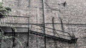 Rettungstreppenhaus stockbilder