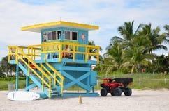 Rettungsturm, Miami Beach Lizenzfreie Stockfotografie