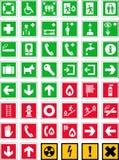 Rettungszeichen Stockbilder