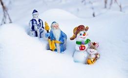Retur av fantastiska hjältar returnerar, efter jul har semestrat Arkivfoton