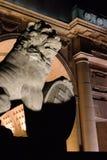 Retur av lejonen på den Menin porten Ypres arkivfoto