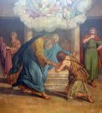 Returen av Prodigal Son royaltyfria bilder