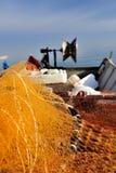 The return of fisherman Royalty Free Stock Photo