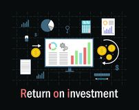 Return on investment Royalty Free Stock Image