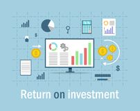 Return on investment Royalty Free Stock Photos