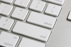 Return Key Stock Photography
