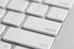 Return Key Stock Photo