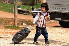 Return into Kobane Stock Photo