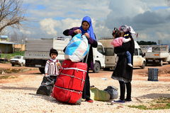 Return into Kobane Royalty Free Stock Images