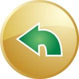 Return navigation icon stock illustration