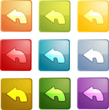 Return navigation icon Stock Photography