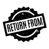 Return From rubber stamp Royalty Free Stock Photography