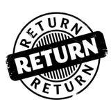 Return rubber stamp Stock Photo