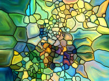 Return of Stained Glass Stock Photography