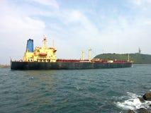 Return to port Stock Image
