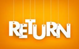 Return Royalty Free Stock Image