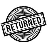 Returned rubber stamp Royalty Free Stock Photo
