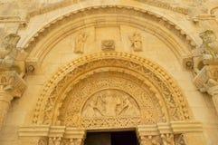 Returnera av den San Leonardoen, Manfredonia Arkivbilder