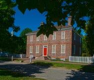 Returnera i koloniinvånaren Williamsburg, Virginia Royaltyfria Foton