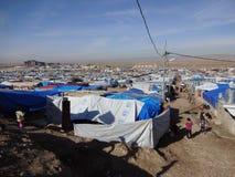 Returnera till siyty tusen flyktingar royaltyfri bild