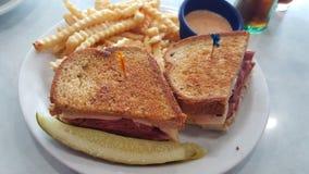 reuben сандвич Стоковые Фото