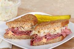 reuben сандвич Стоковые Изображения RF