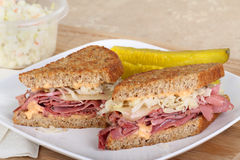 Reuben Sandwich Royalty Free Stock Images