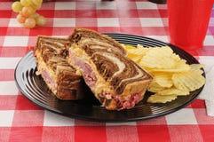 Reuben Sandwich Stock Image