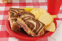 Reuben sandwich Stock Photos