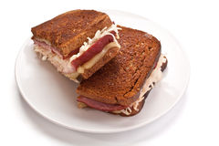 Reuben Sandwich Stock Photography