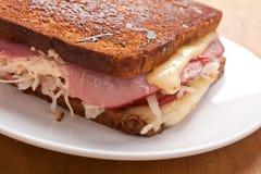 Reuben Sandwich Arkivbild