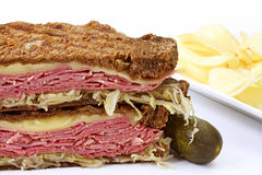 Reuben Sandwich Stock Images