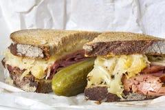 Reuben Sandwich Lizenzfreies Stockfoto