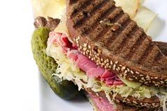reuben smörgåsen Arkivbild