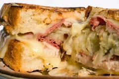 reuben smörgåsen Royaltyfri Fotografi