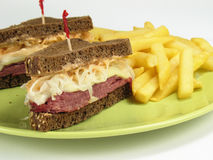 Reubens For Lunch Royalty Free Stock Photography