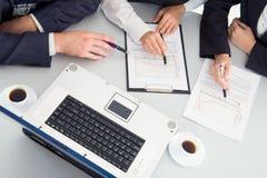 Reunião. Fotos de Stock