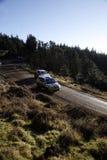 Reunião 2008 de WRC Wales GB imagens de stock royalty free