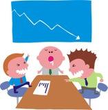 Reunião ilustração stock